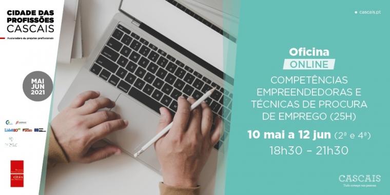 Oficina Formativa: Competências Empreendedoras e Técnicas de Procura de Emprego (Formação Modular Financiada)