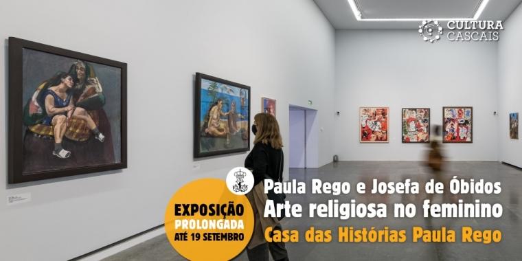 Arte Religiosa no Feminino | de Paula Rego e Josefa de Óbidos