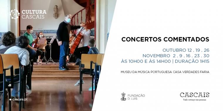Concertos Comentados - Museu da Música Portuguesa